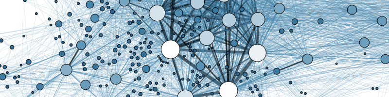 abstract image of network