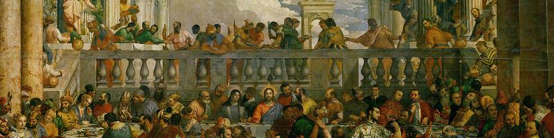 Le Nozza di Cana painting