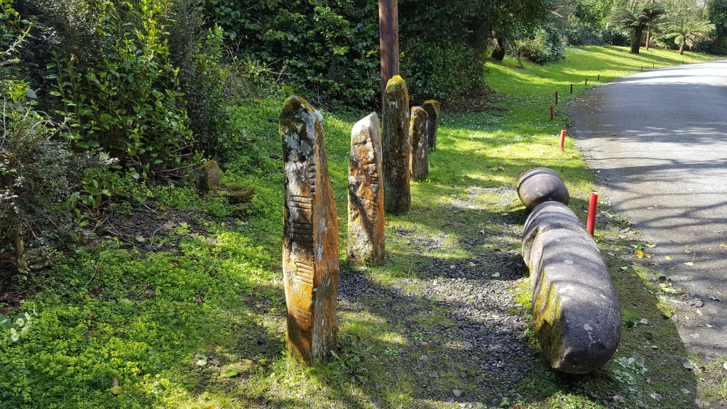 Image of Ogham Stones at burnham House